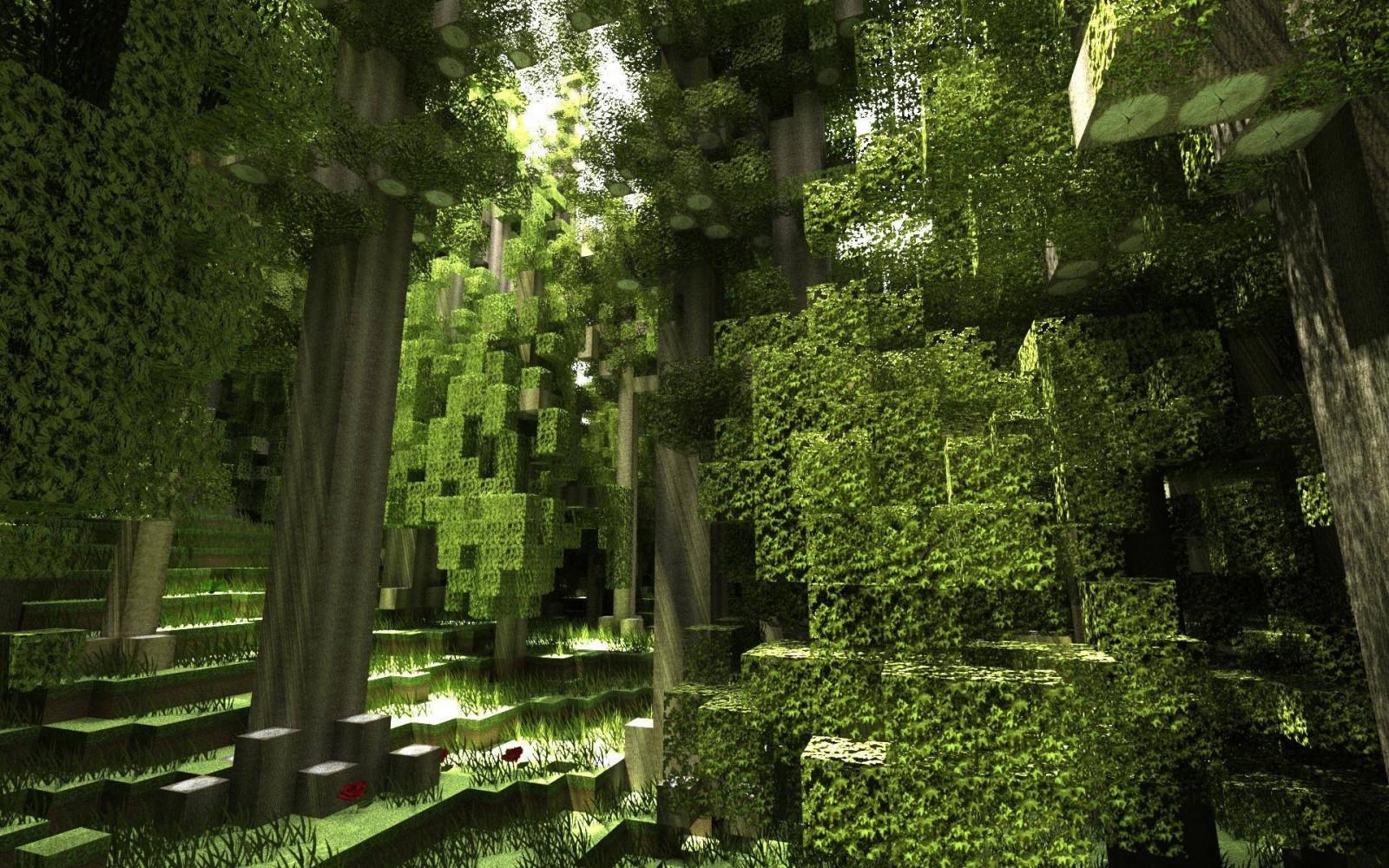 Wonderful Wallpaper Minecraft Forest - Minecraft_render_screen_shot_forest-158510  2018_139337.jpg!d