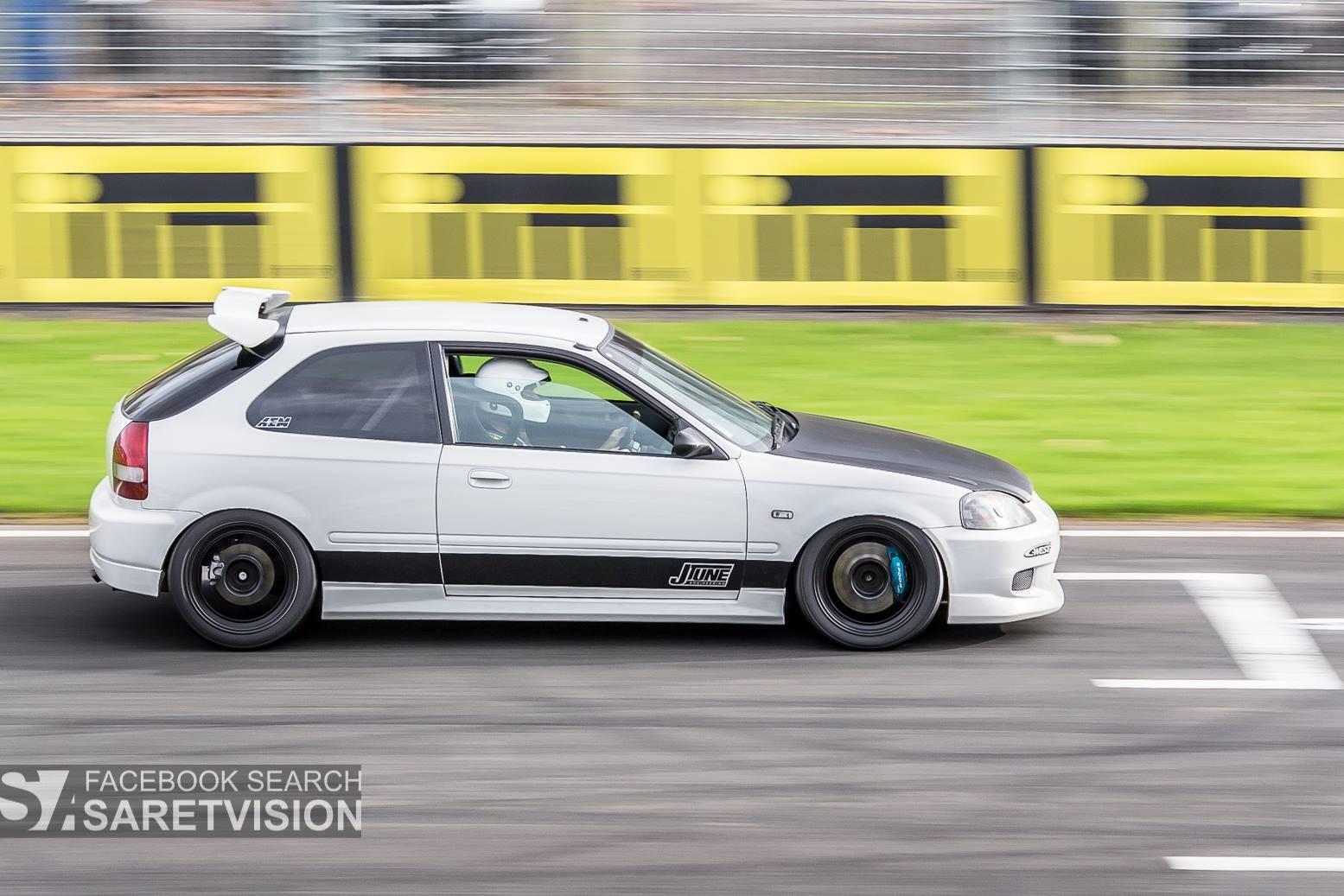 Race Cars Car Vehicle Honda Honda Civic Sports Car Racing Sedan Wheel  Motorsport Land Vehicle Race