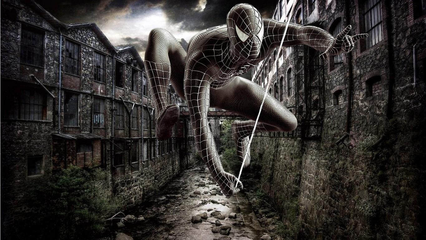 Spider Man comics darkness screenshot computer wallpaper