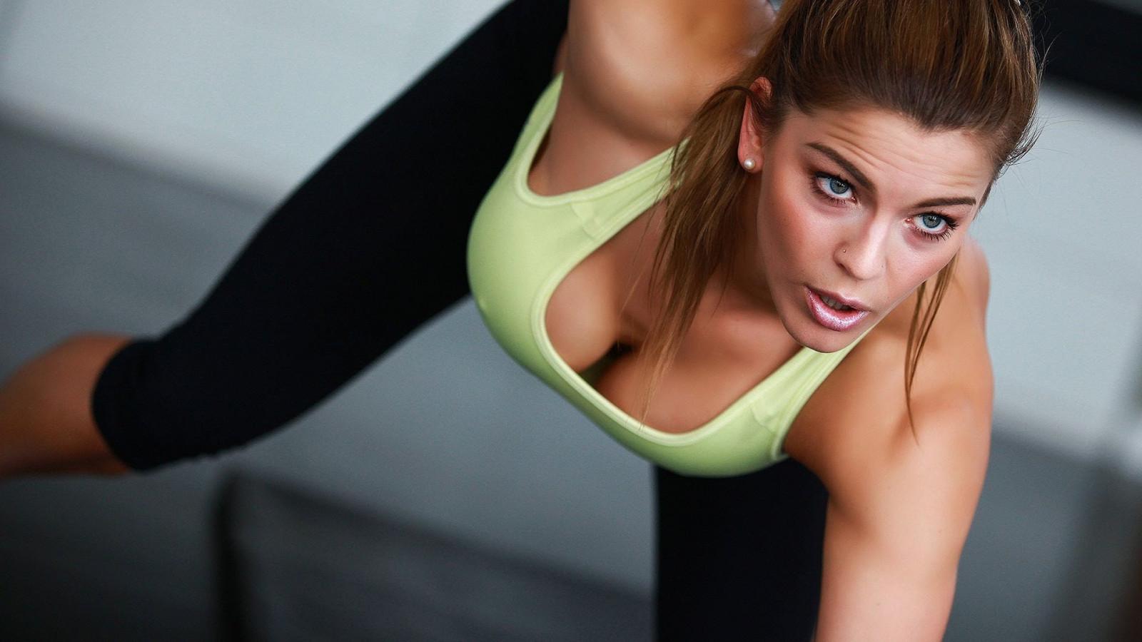 Wallpaper katie, brunette, sexy girl, adult model