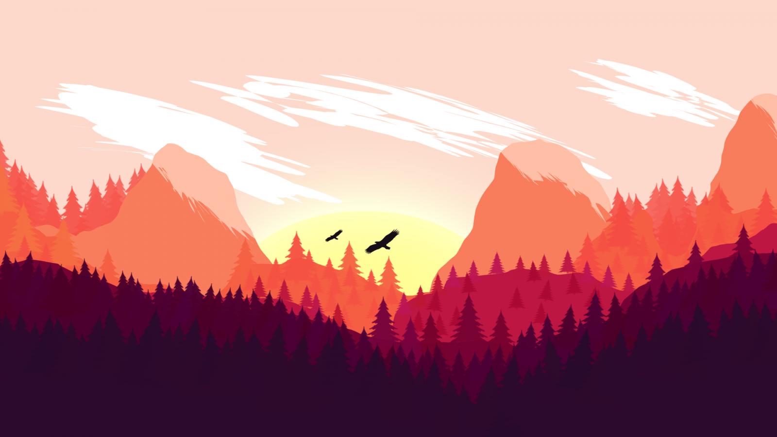 Красивые картинки минимализм, открытка летием