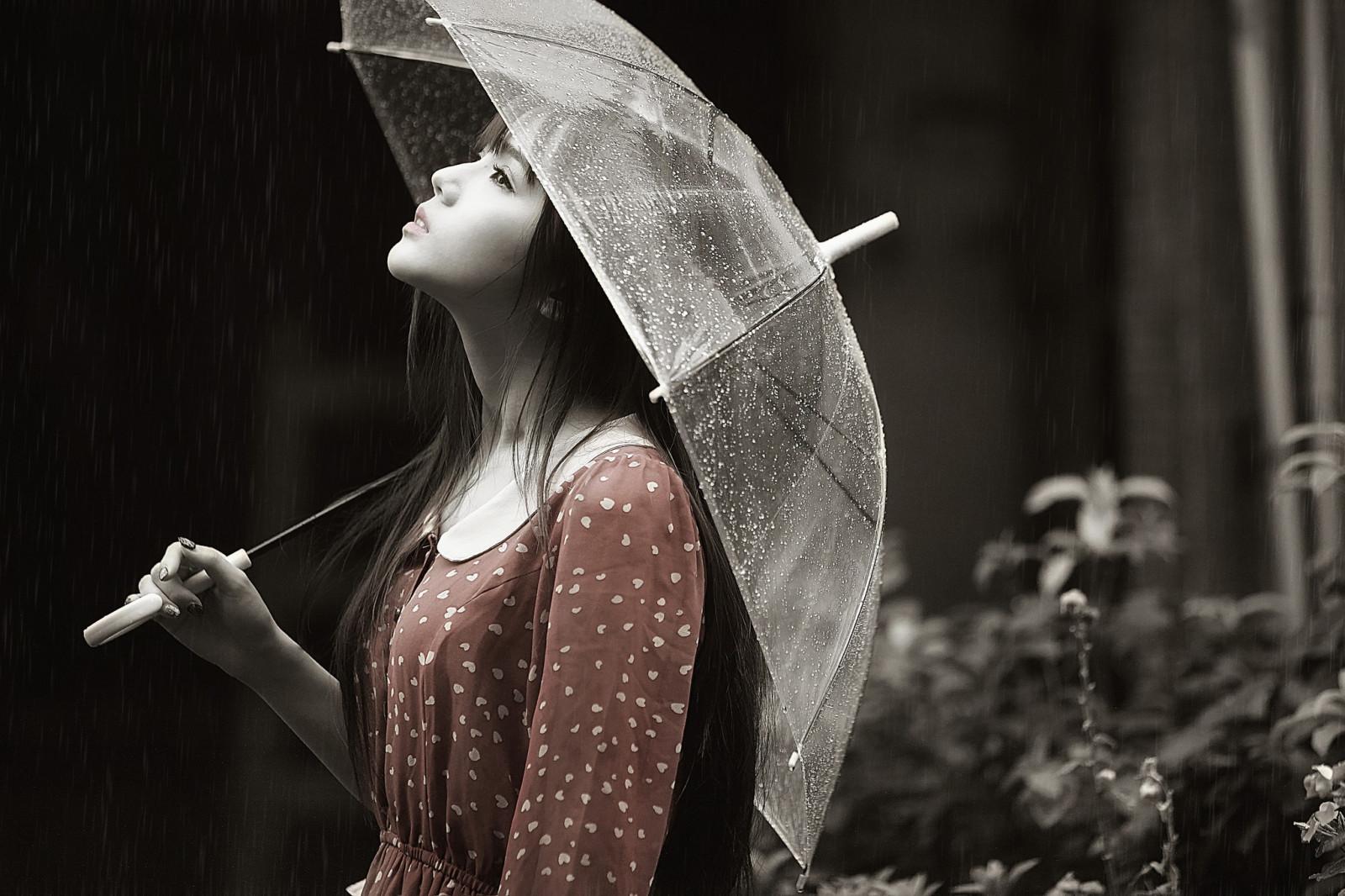 Девушка под зонтом картинки, для мужчин картинки