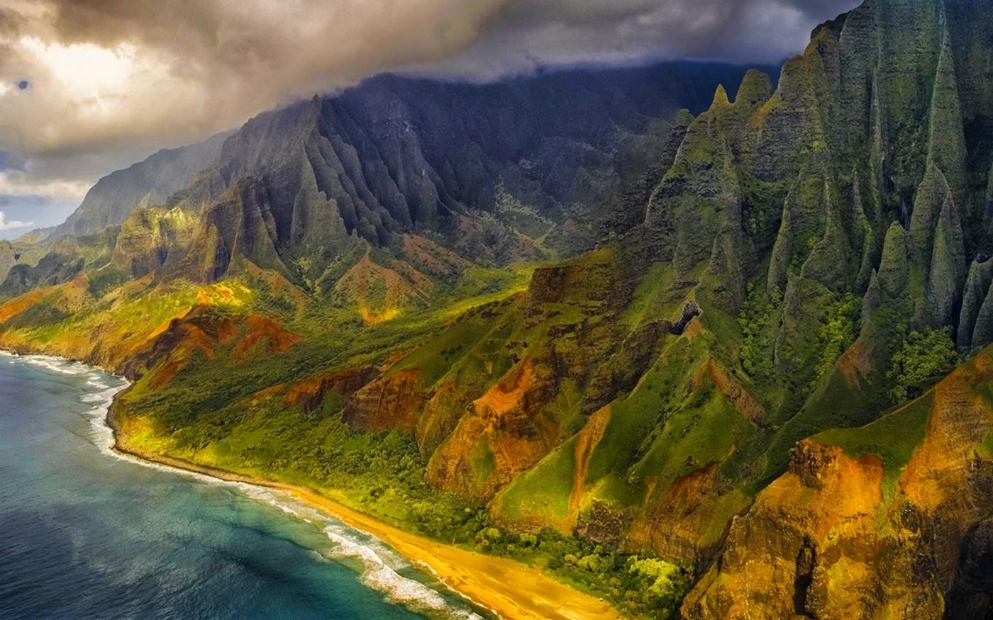 Good Wallpaper Mountain Beach - nature_landscape_aerial_view_mountains_beach_sea_cliff_clouds-66327  Trends_754660.jpg!d