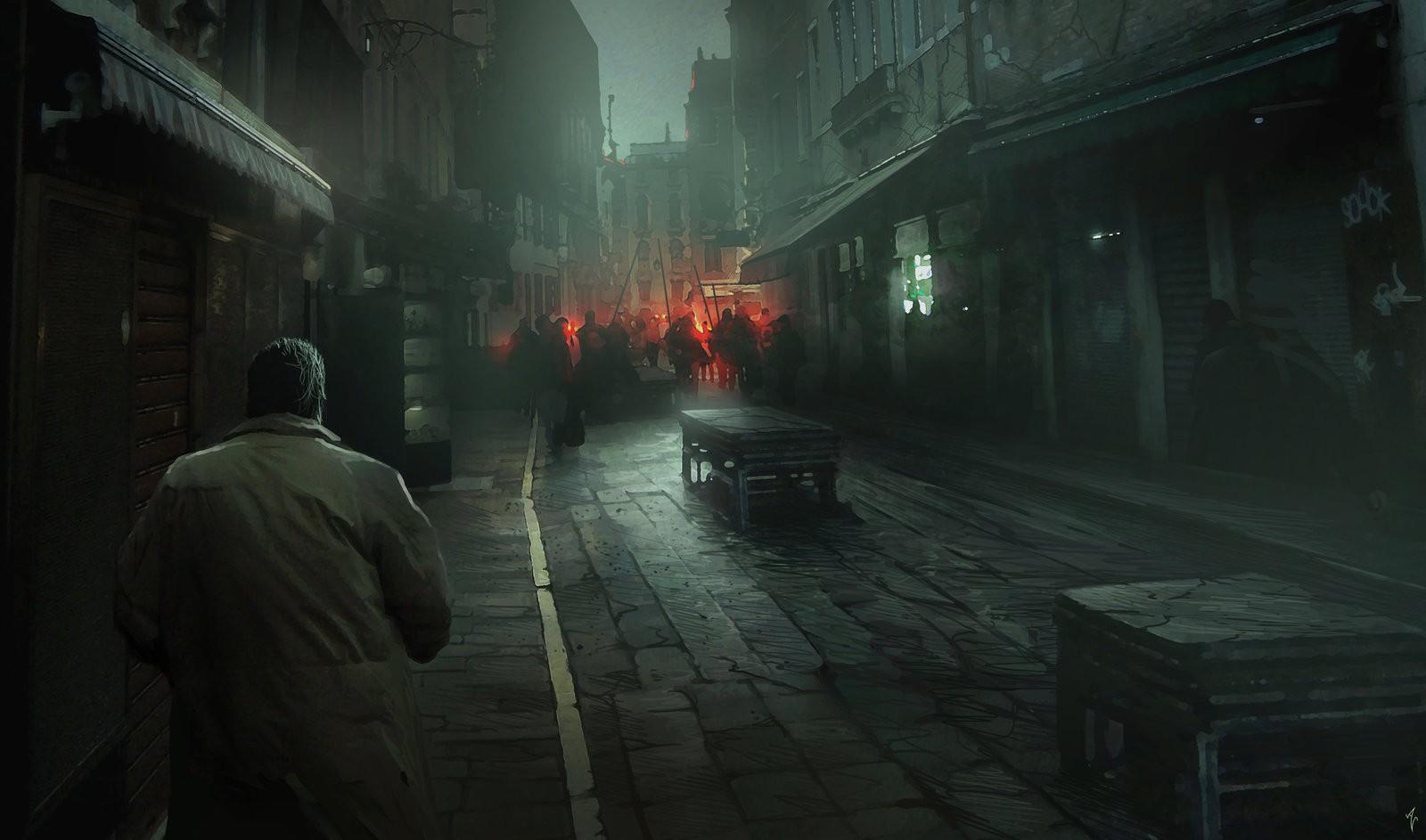 Wallpaper Digital Art Dark Science Fiction Midnight Darkness