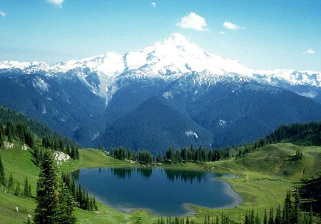 Sfondi Lago Erba Cielo Parco Nazionale Valle Passo Di