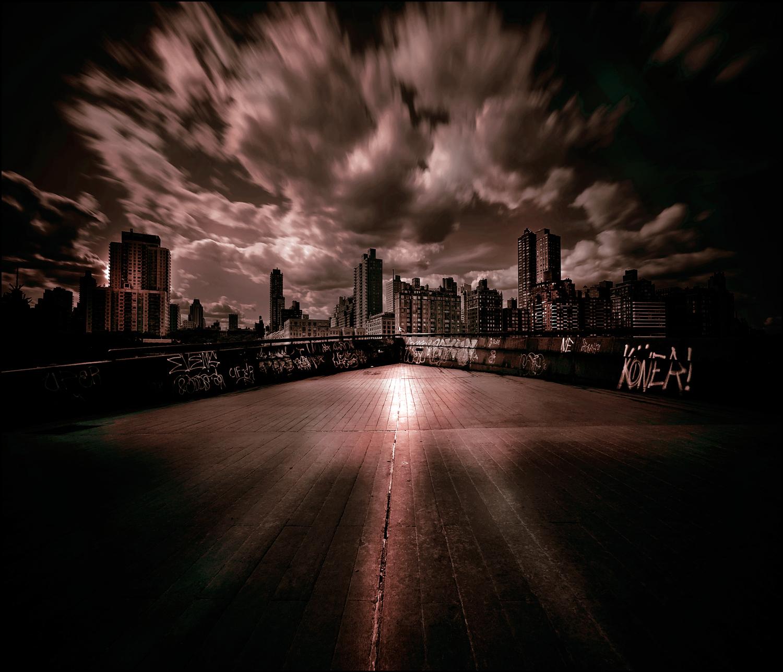 Wallpaper Cityscape Kaki Langit Metropolis Awan