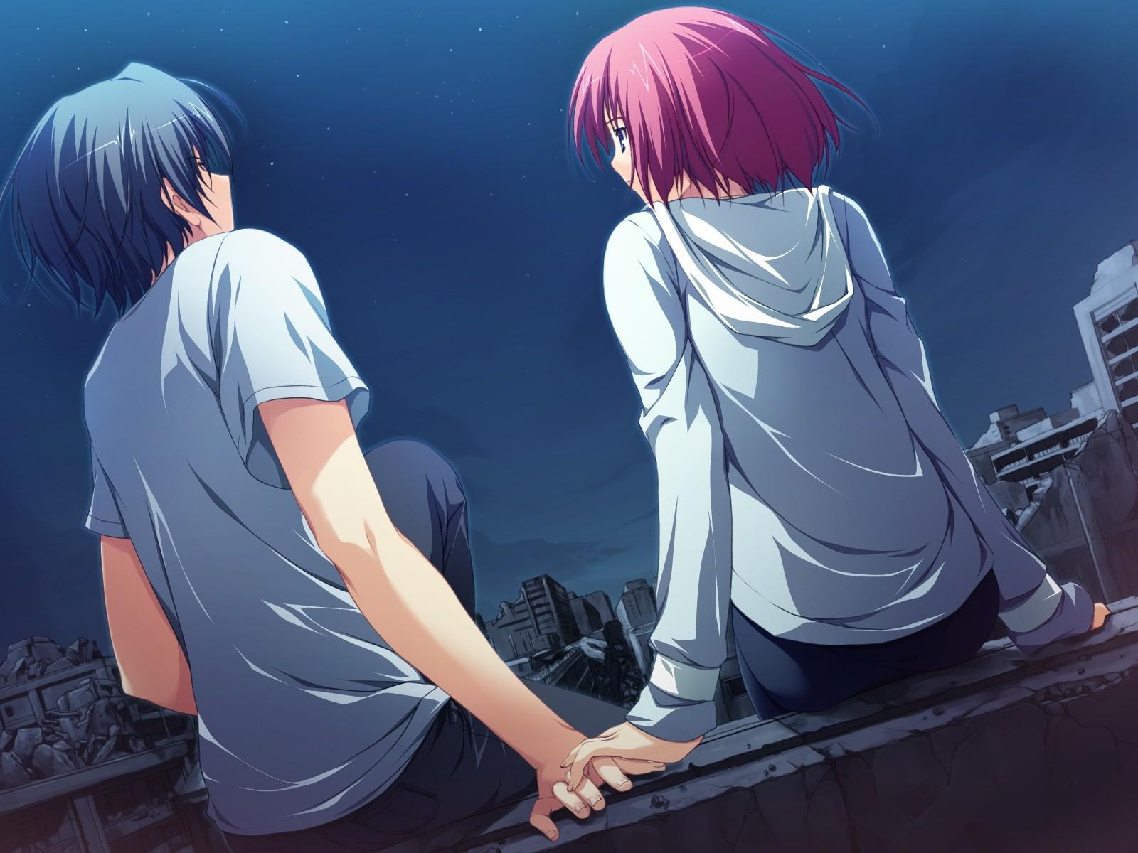 Anime Love Clothing Akatsuki No Goei Tomose Shunsaku Boy Girl Attitude Screenshot Mangaka
