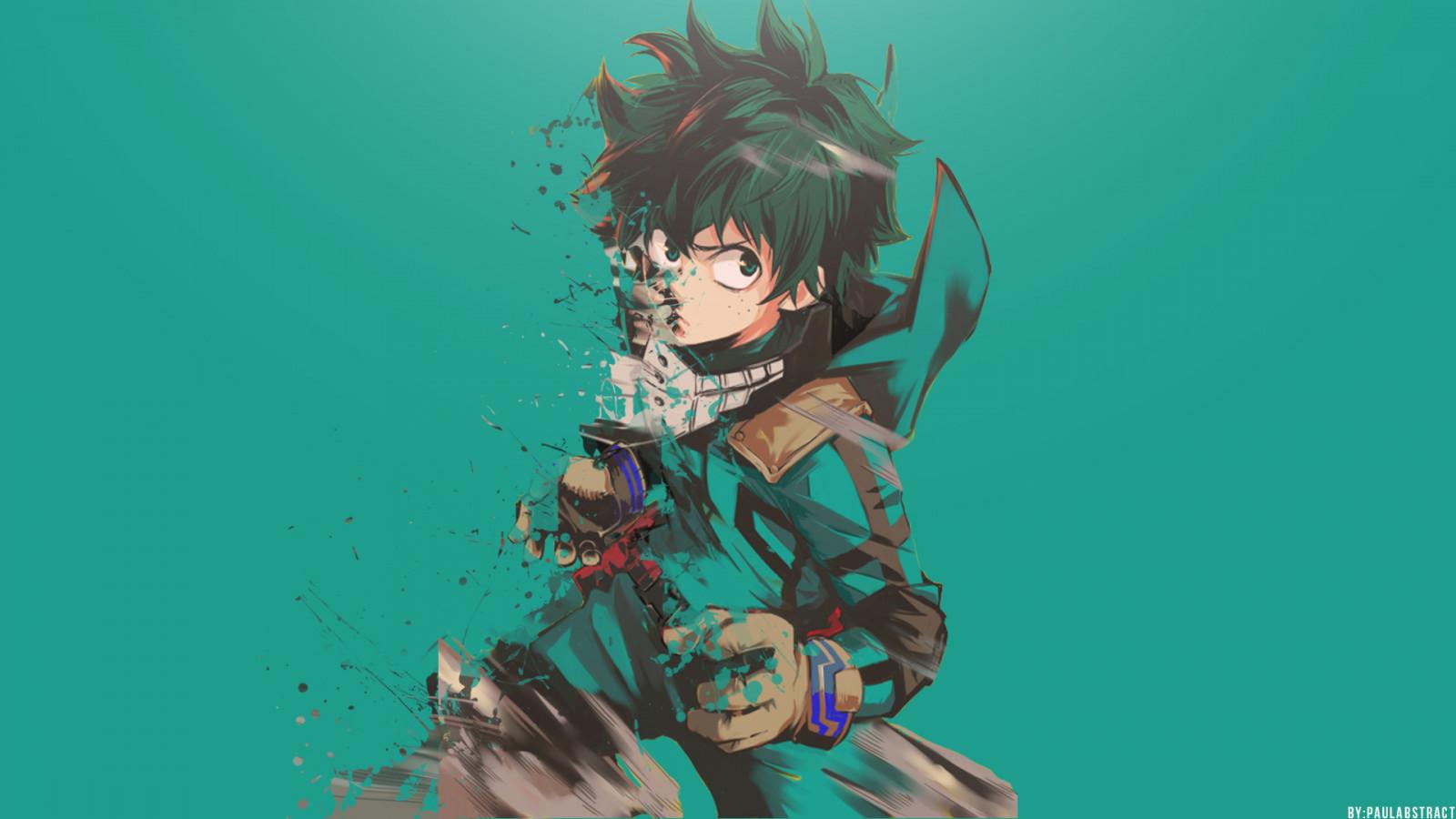 Wallpaper Boku No Hero Academia Anime Midoriya Izuku