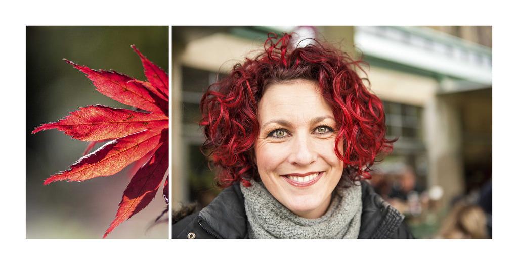Couleur cheveux boucle rouge