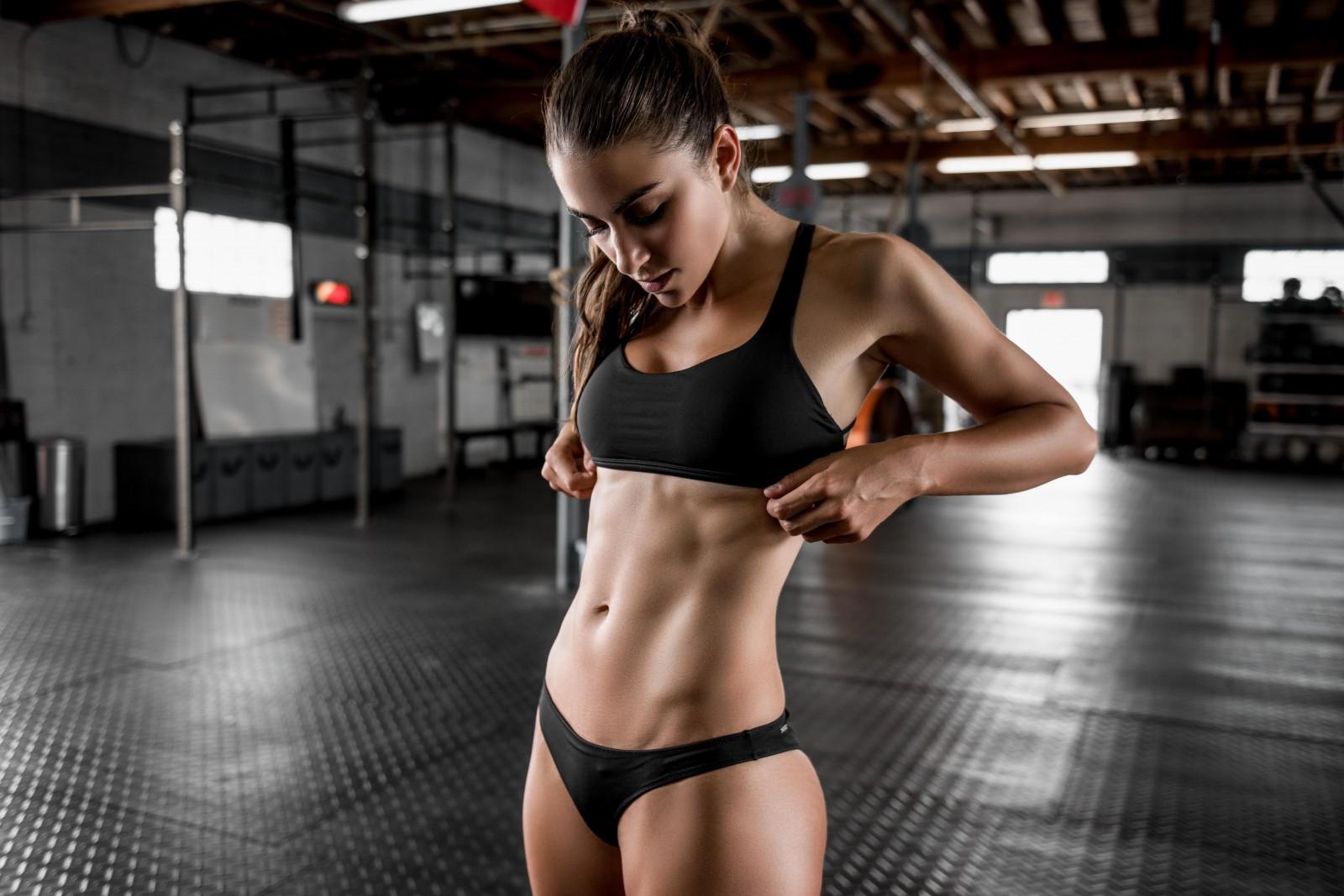 fitness gymnastics model Bikini