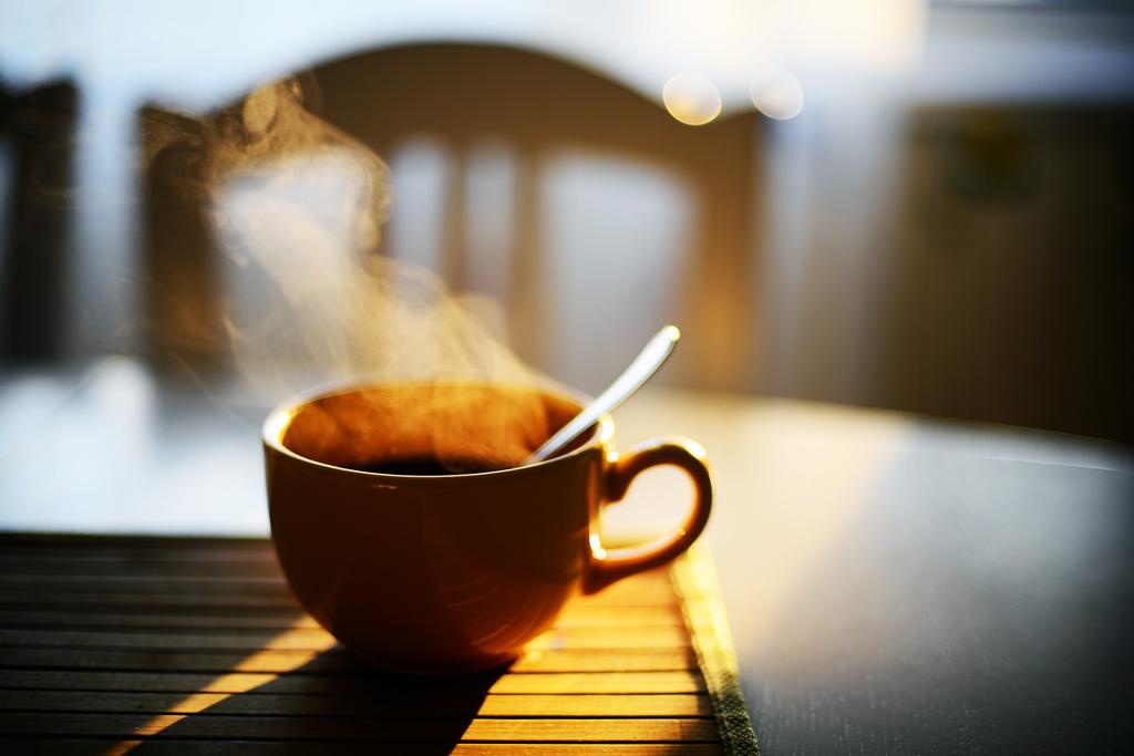 Wallpaper Sunlight Sunset Table Wood Drink Tea