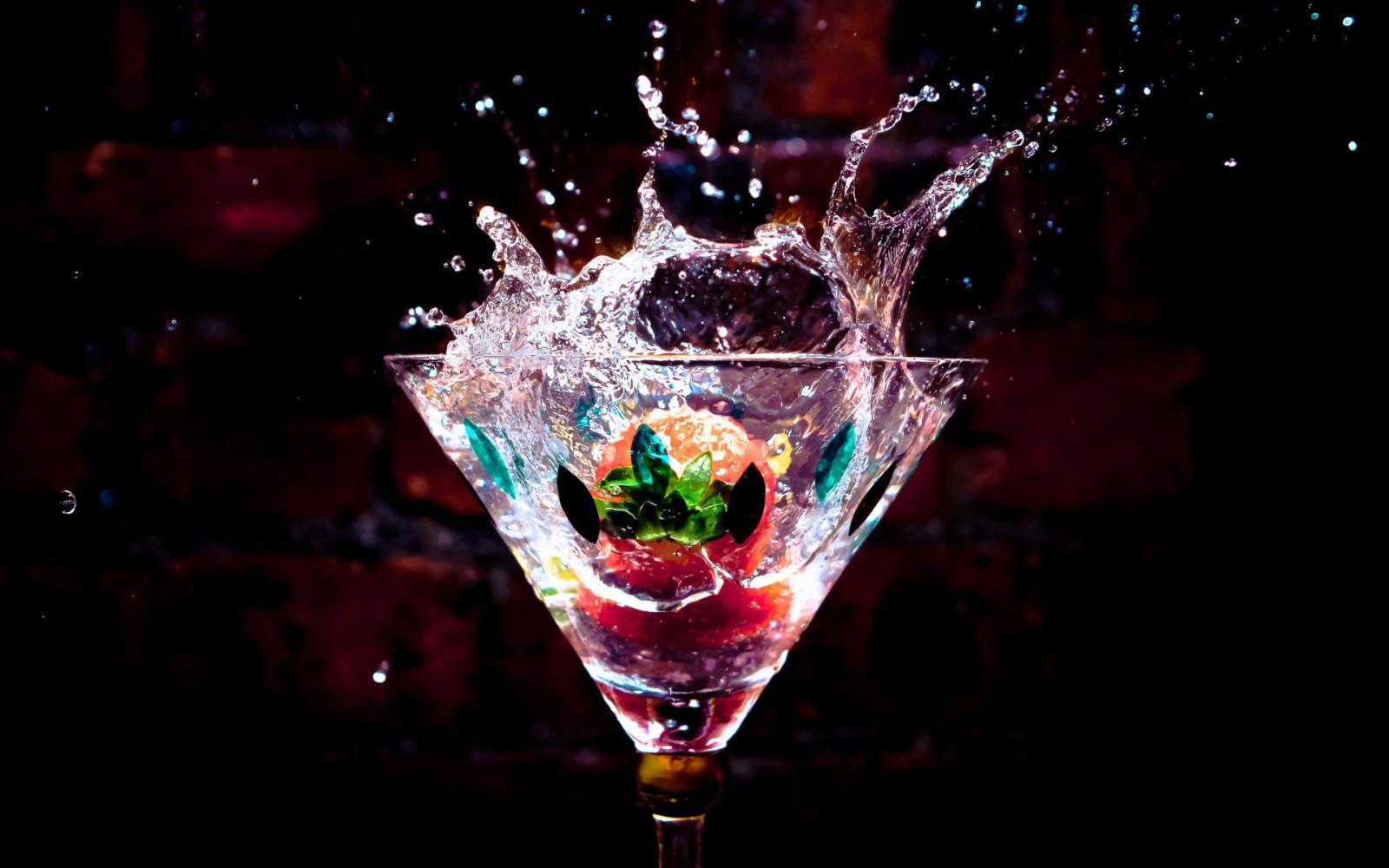 Картинки мартини со льдом