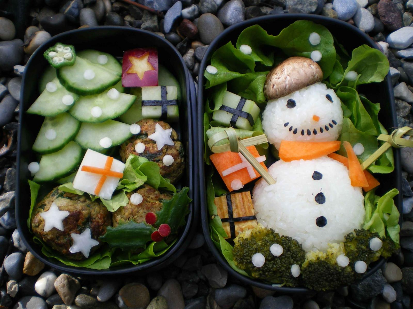 Hintergrundbilder : Lebensmittel, Schneemann, Gurke, Karotte ...