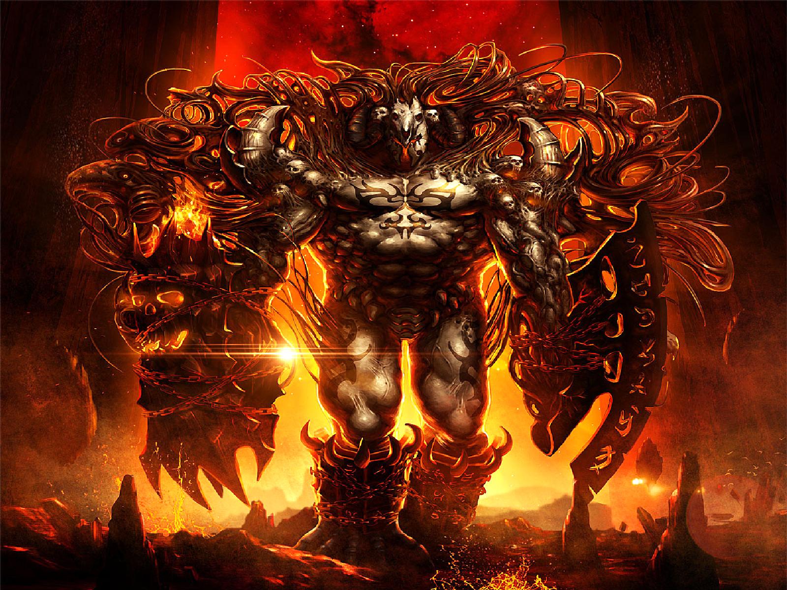 Смотреть картинки демонов ада