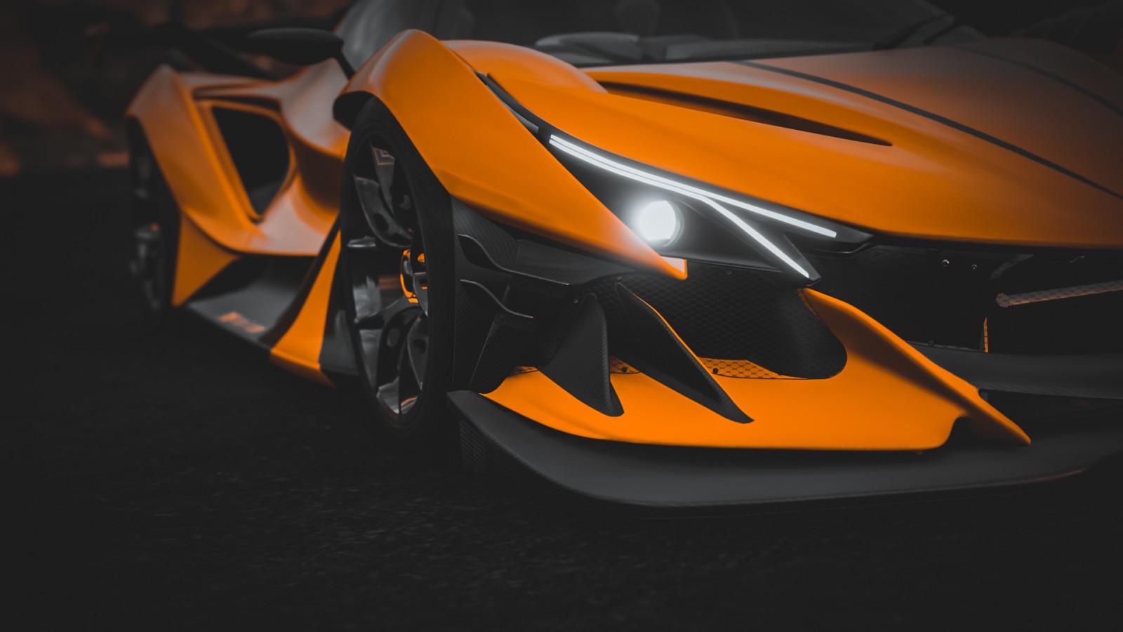 วอลเปเปอร์ : Apollo IE, Apollo Gumpert, รถ, Forza Horizon ...