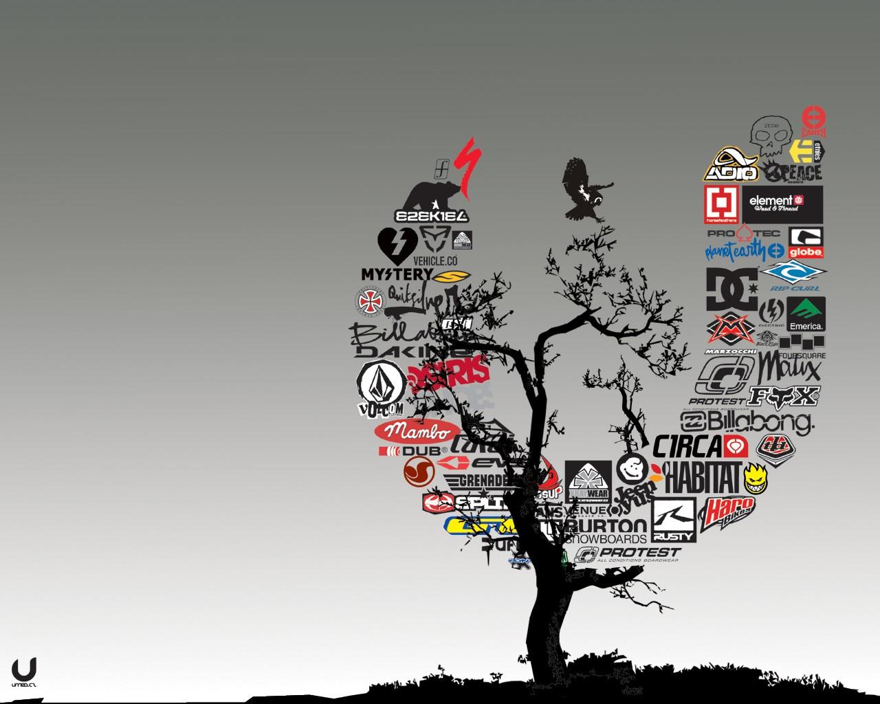 Wallpaper Trees Illustration Cartoon Graphic Design