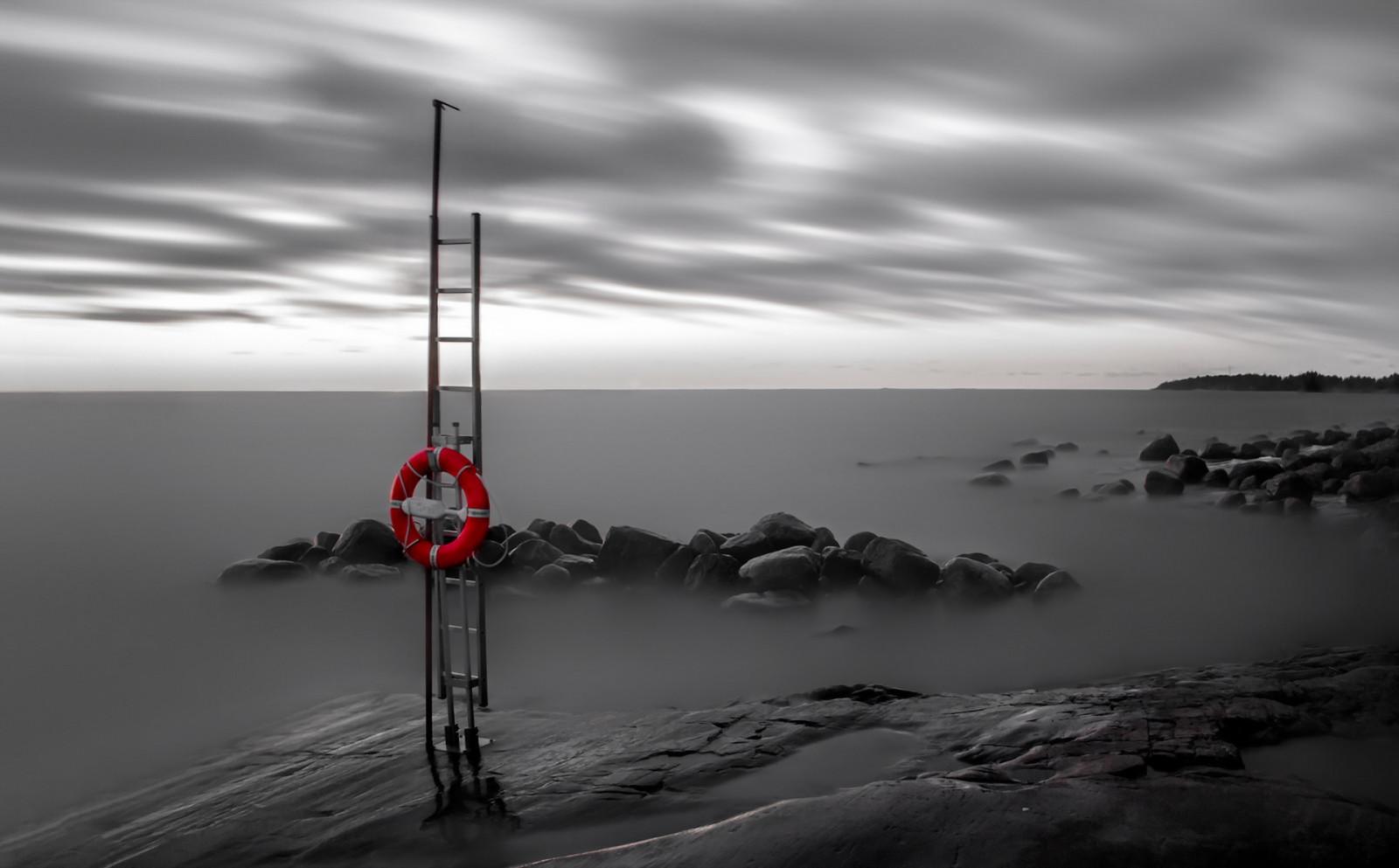 Fondos de pantalla : Colorante selectivo, mar, cielo, horizonte ...