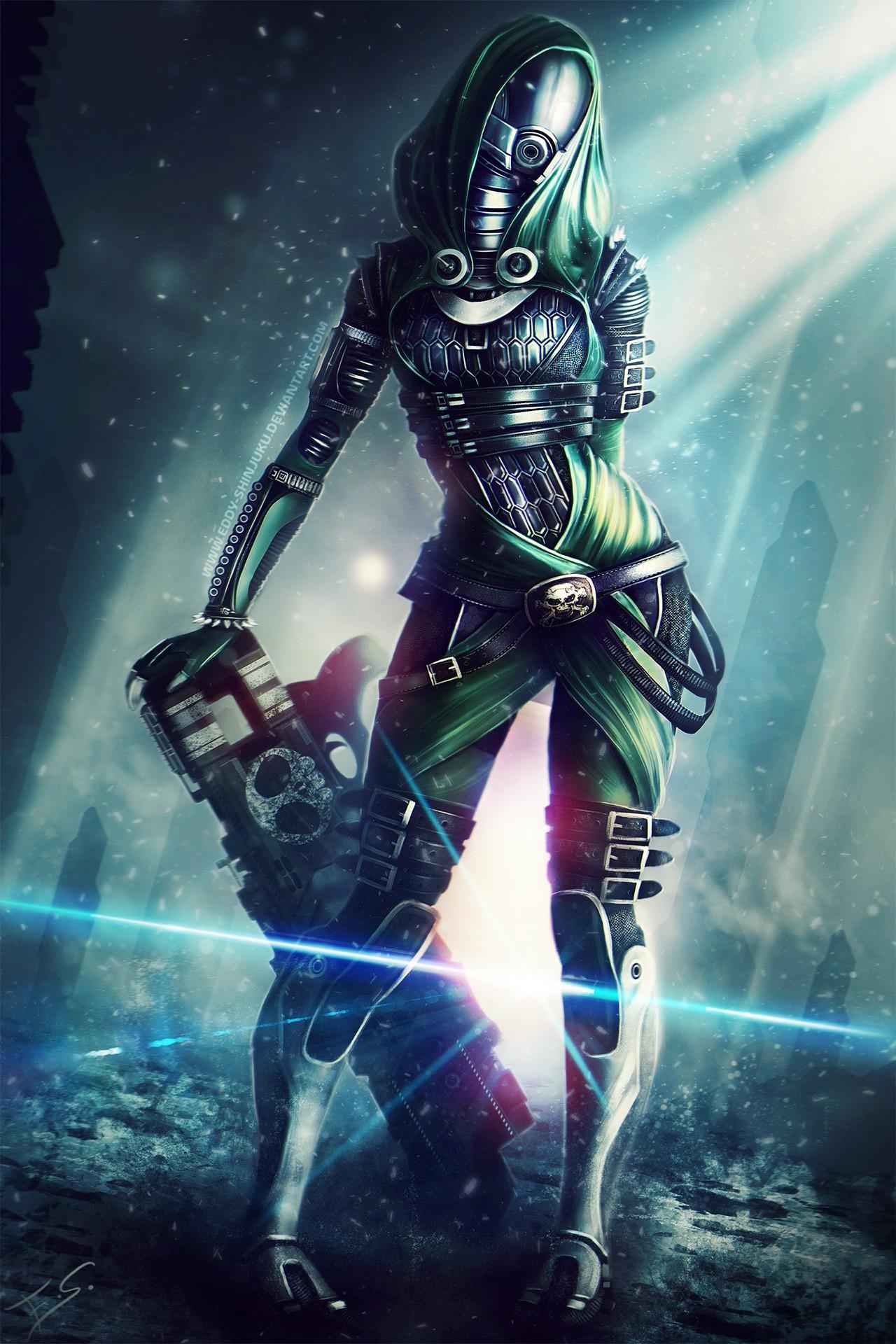 Wallpaper Illustration Mass Effect Mass Effect 3 Tali