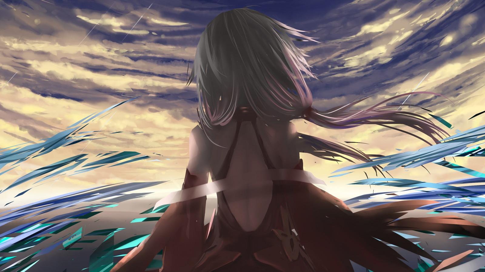 Wallpaper : anime girls, Guilty Crown, Yuzuriha Inori ...
