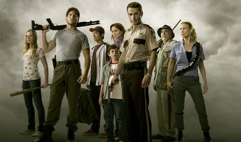 Wallpaper People The Walking Dead Rick Grimes Daryl Dixon