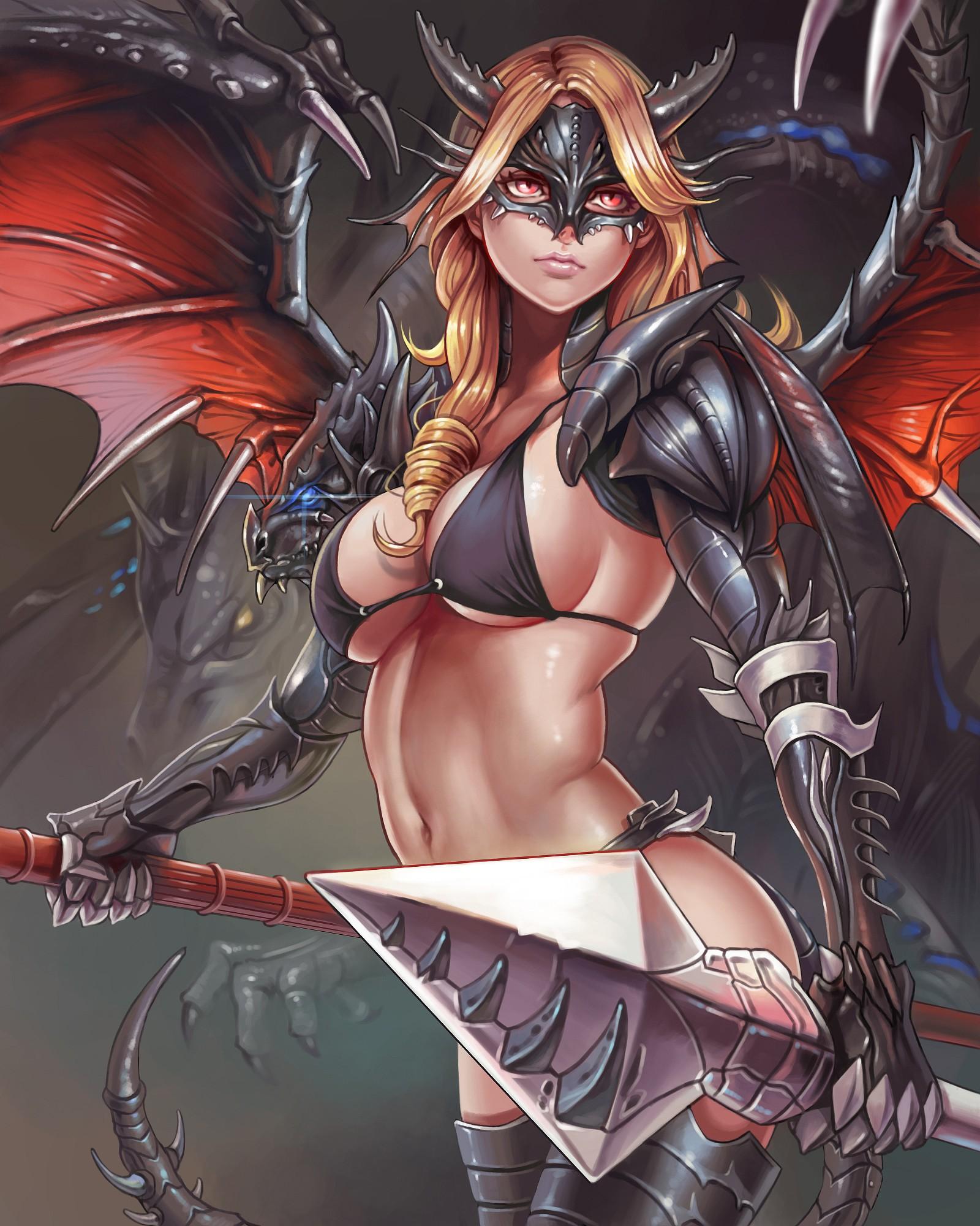Druid girl fucks a dragon xxx pics