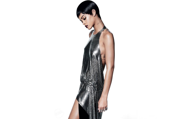 Hintergrundbilder : schwarz, Frau, Kleid, Muster, Mode, Rihanna ...