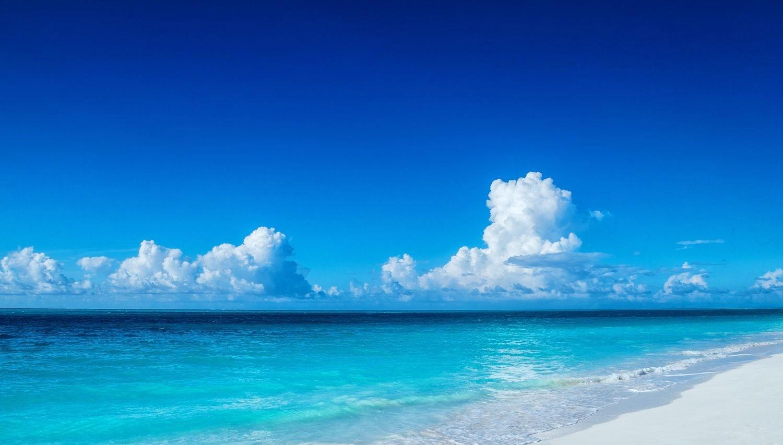 デスクトップ壁紙 風景 白 水 自然 海岸 砂 写真 雲 ビーチ