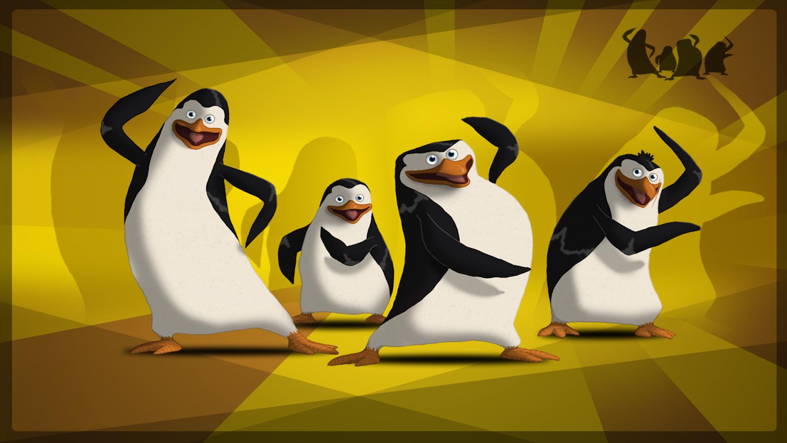 Картинки пингвины из мадагаскара
