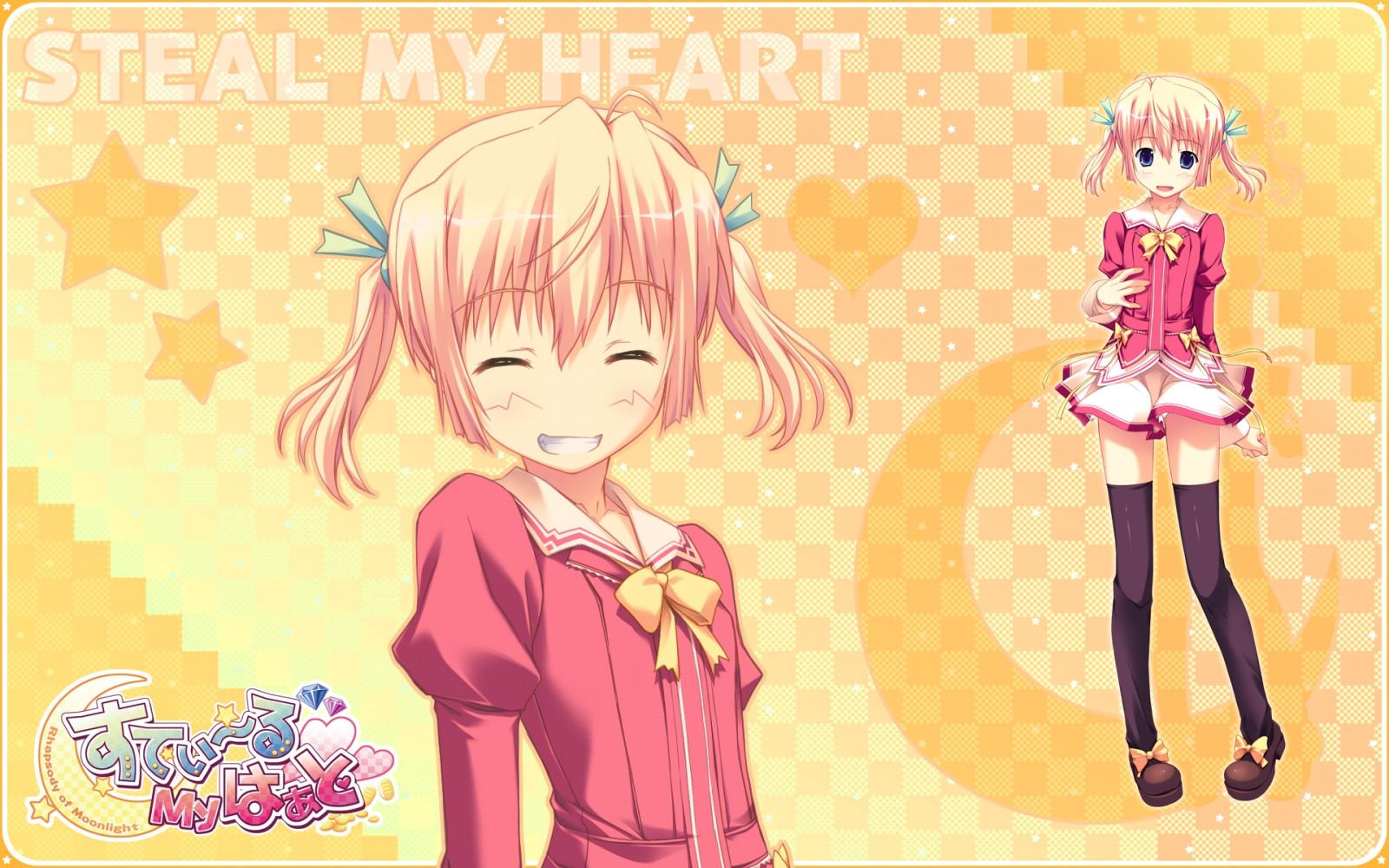 Wallpaper Ilustrasi Anime Gambar Kartun Rok Imut