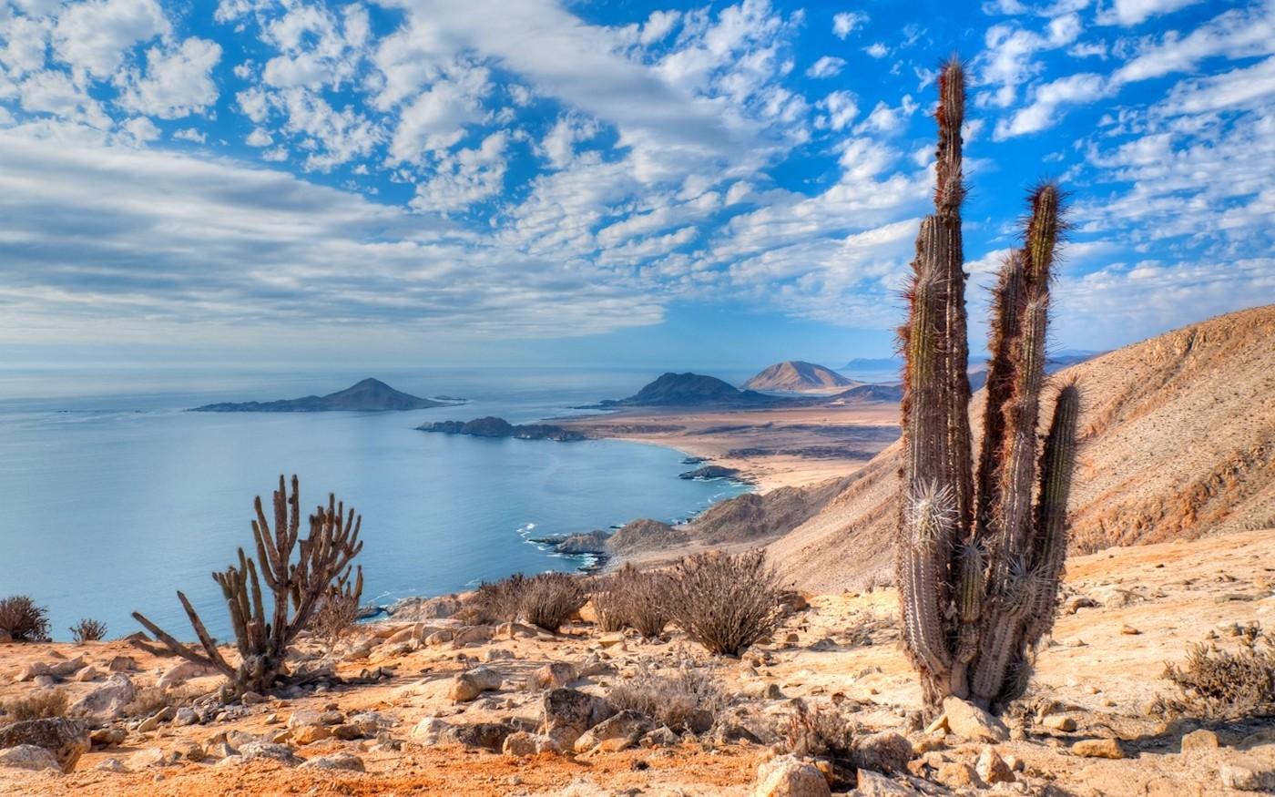 Resultado de imagen para costa del desierto de Atacama chile