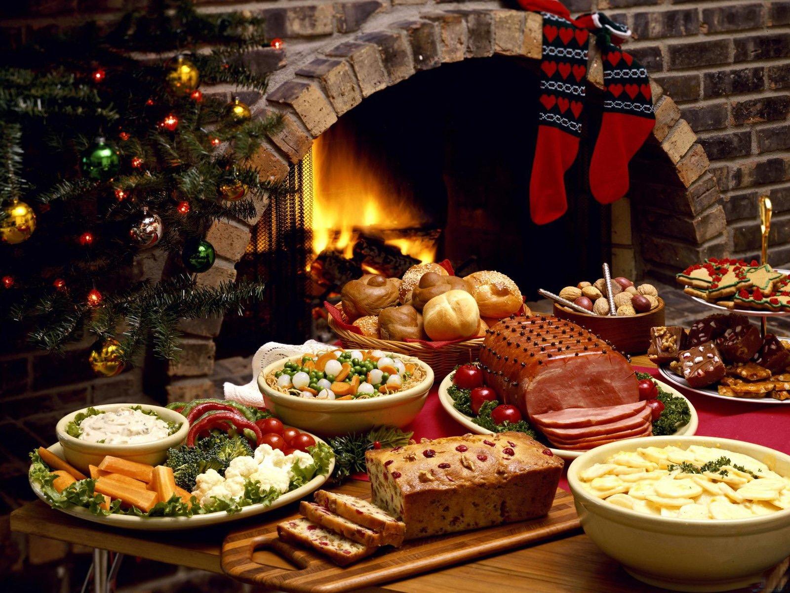 Pasti Di Natale.Sfondi Cibo Fuoco Camino Vacanza Pasto Cucina Buffet