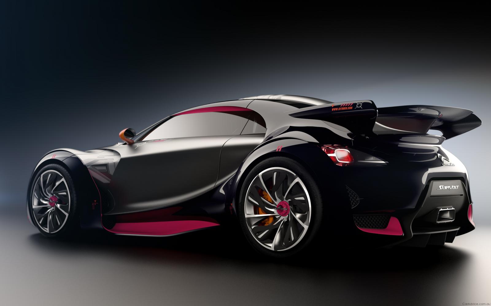 fond d 39 cran voitures de course v hicule voiture de sport citro n survolt voiture. Black Bedroom Furniture Sets. Home Design Ideas