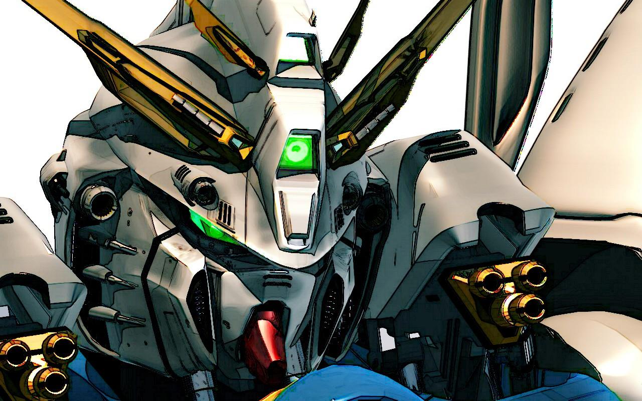 Anime Robot Mech Gundam máy móc Truyện tranh Ảnh chụp màn hình Mecha