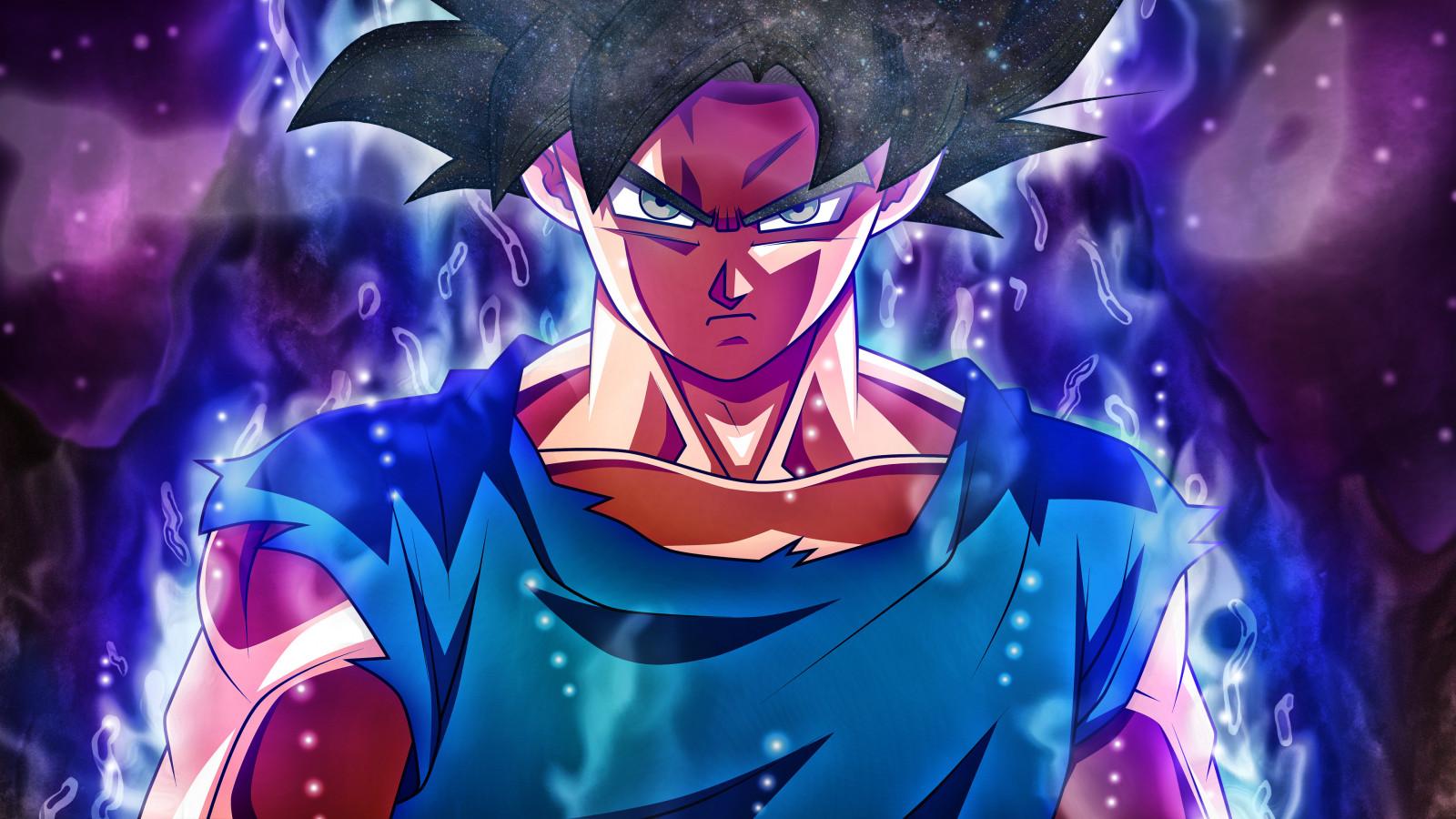 Fond d'écran : Son Goku, Ultra Instinct Goku, Dragon Ball, DBS, Dragon Ball Super 3840x2160 ...