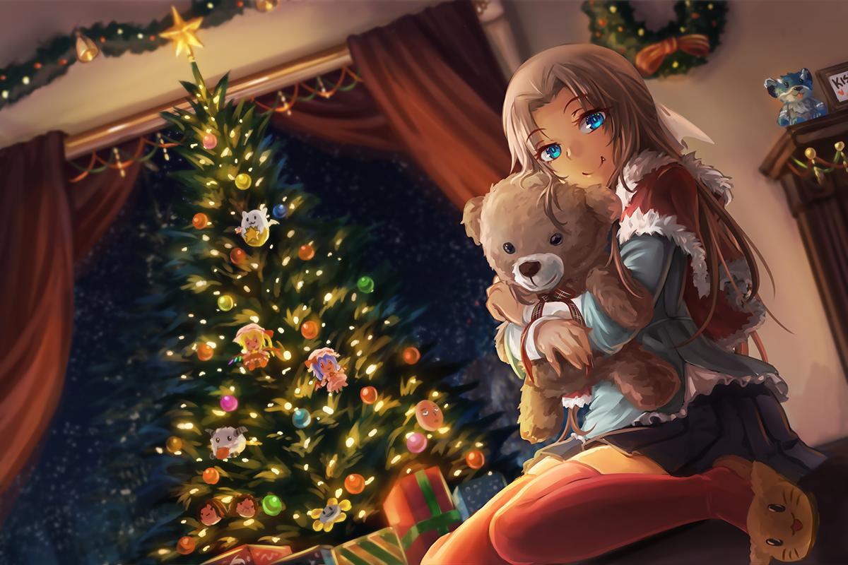 Hintergrundbilder : Anime Mädchen, Oberschenkelhöhen, Fan Art ...