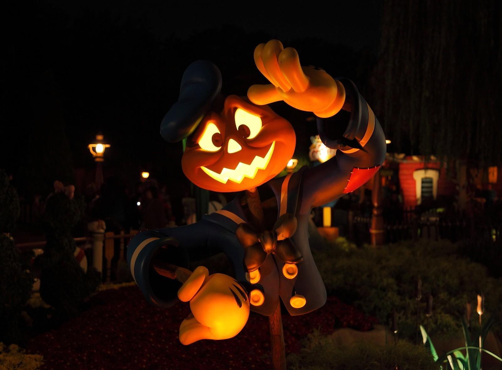 Sfondi luci notte halloween zucca vacanza jack o lantern