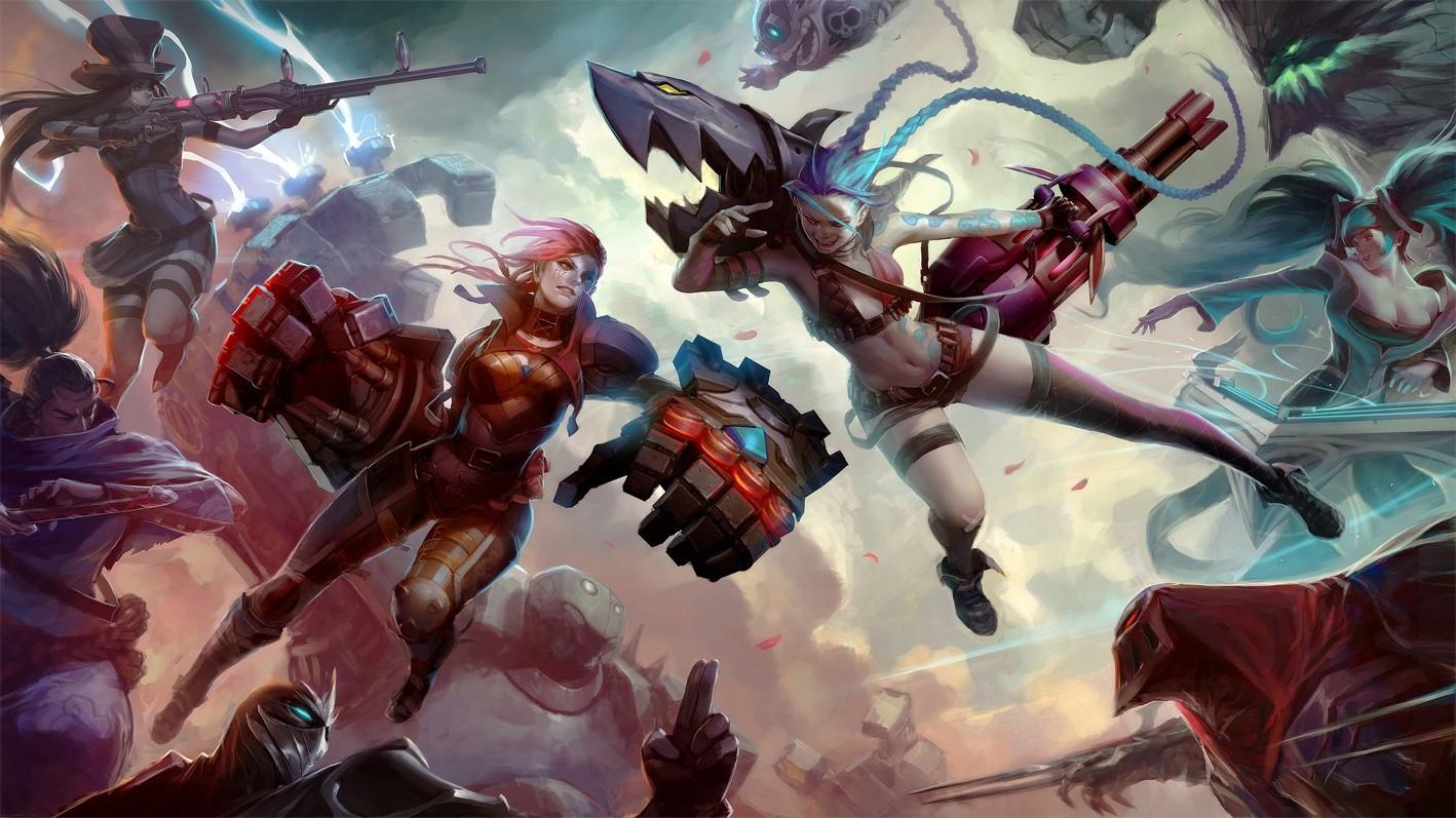 Wallpaper 1418x797 Px Blitzcrank League Of Legends