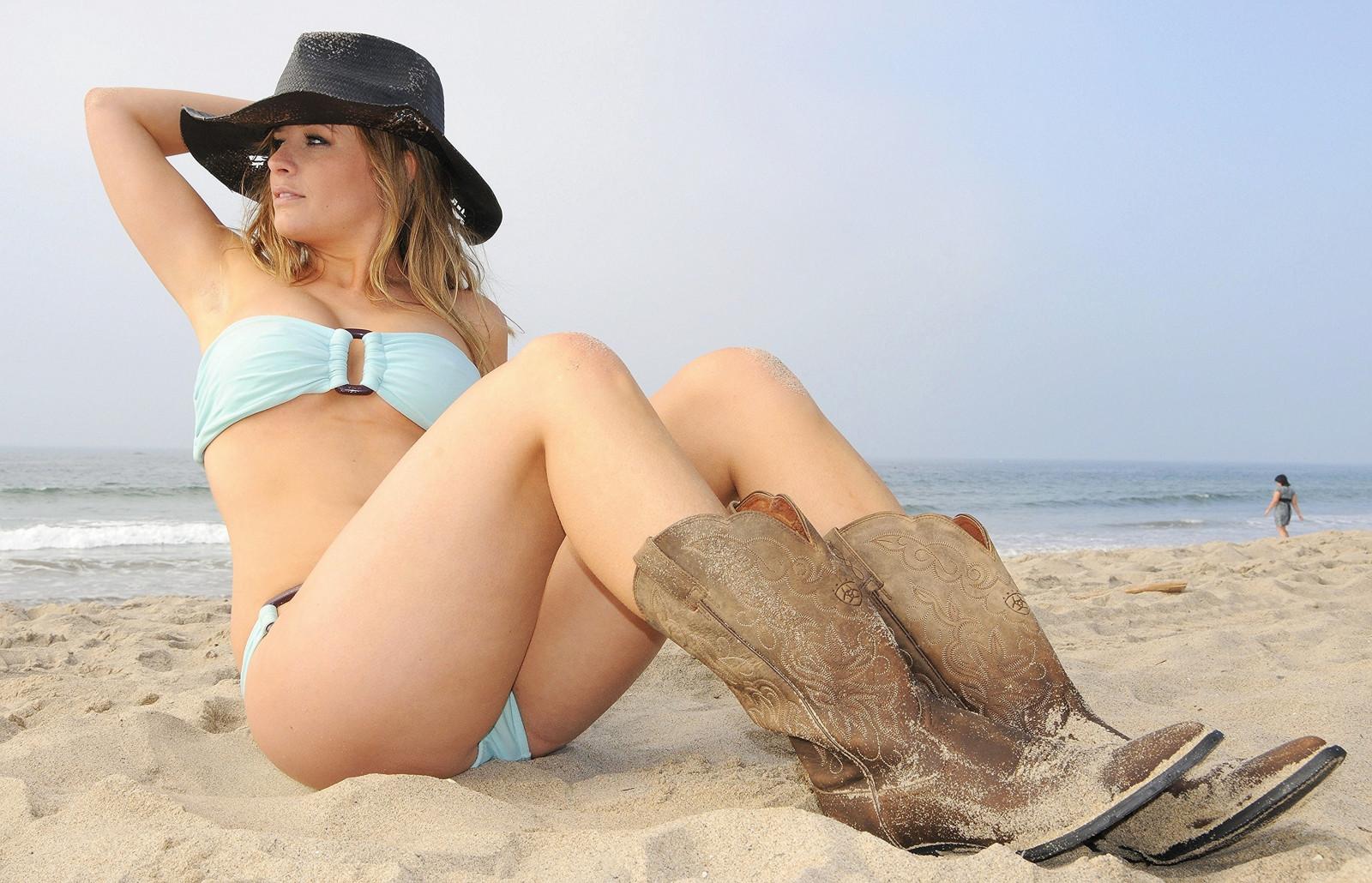 Wallpaper  Girls, Sea, Portrait, Sun, Hot, Sexy, Beach -8737