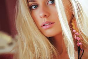 Wallpaper Face Women Model Portrait Blonde Long