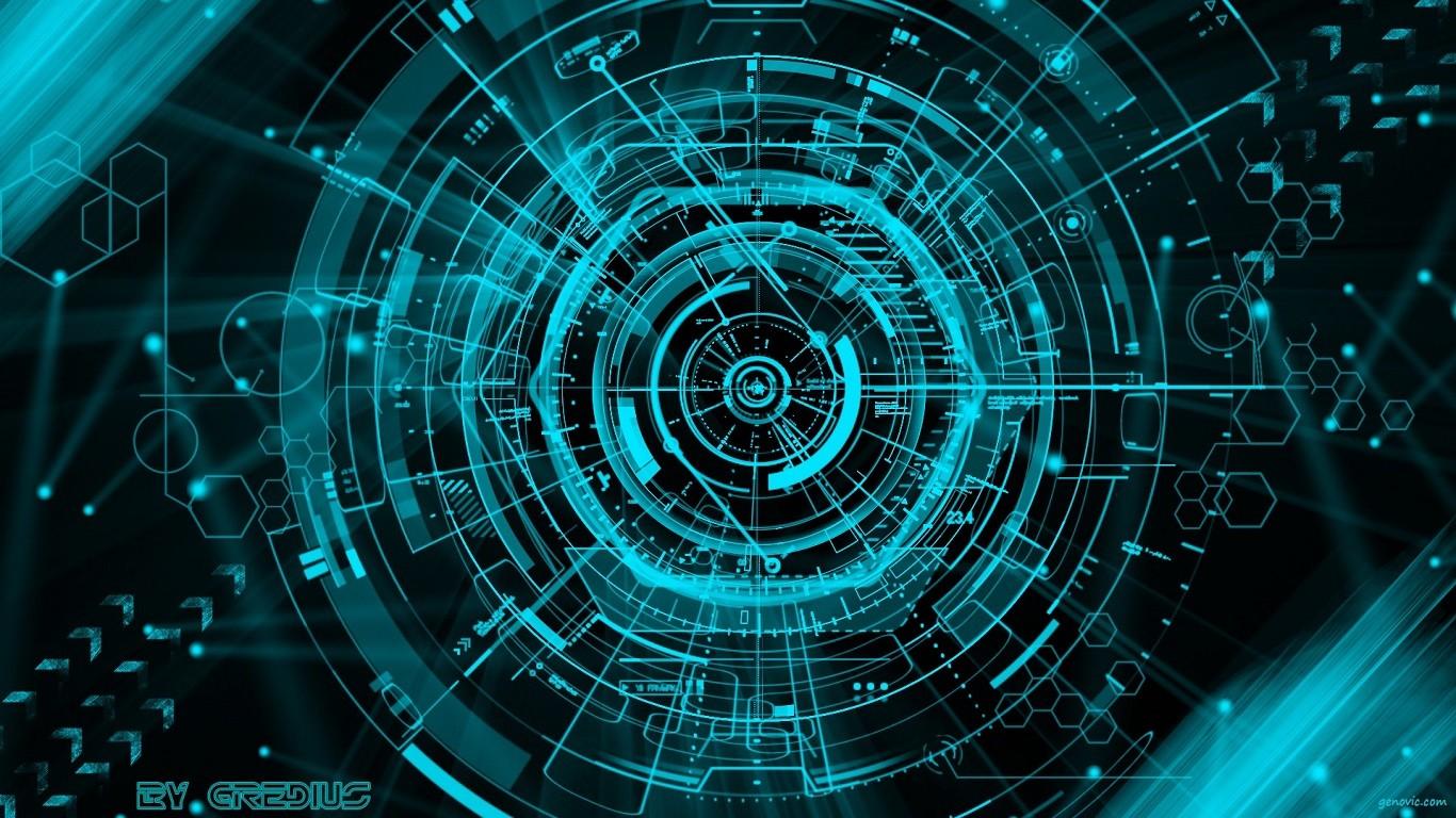 Digital Art Space Symmetry Technology Circle Universe Vortex Line Screenshot Computer Wallpaper Fractal
