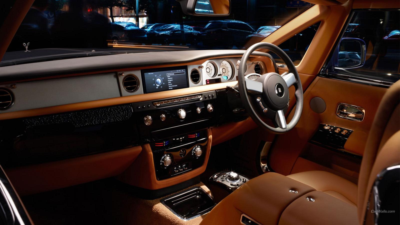 Wallpaper Car Interior Rolls Royce Performance Car Steering Wheel Sedan Rolls Royce Phantom Land Vehicle Automotive Design Automotive Exterior Automobile Make Luxury Vehicle Sport Utility Vehicle Mid Size Car Auto Show
