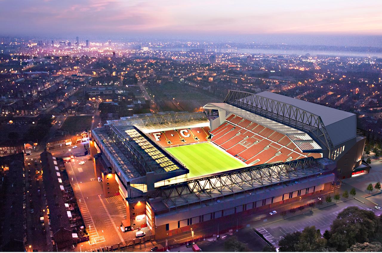 Anfield Road, Liverpool FC, Liverpool, estadio, football stadium