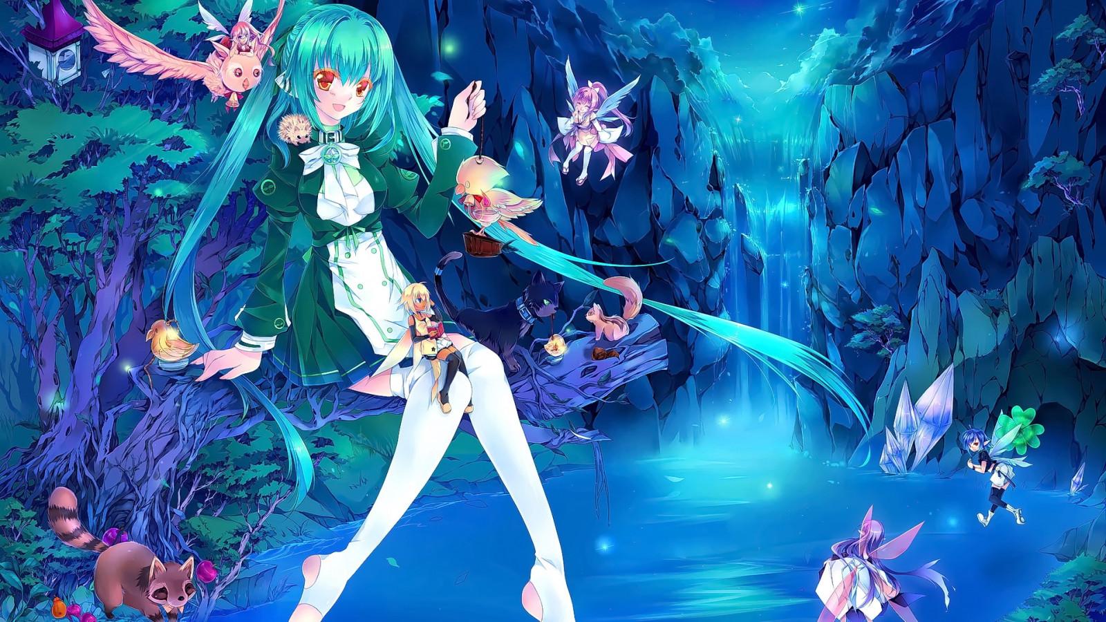 Картинка с аниме, принцессы картинках лет
