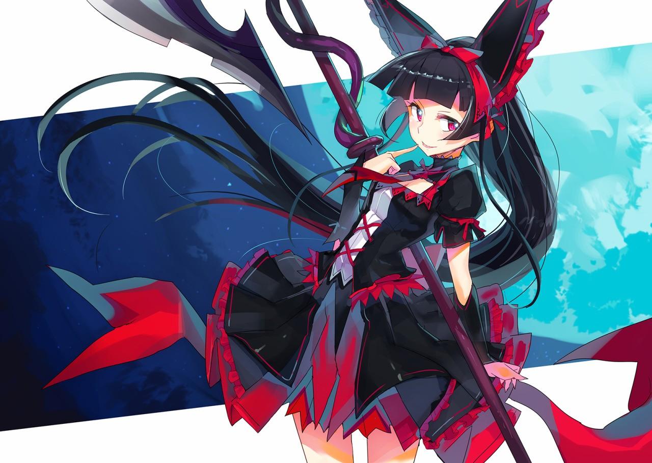 Wallpaper Illustration Anime Girls Rory Mercury Gate Jieitai