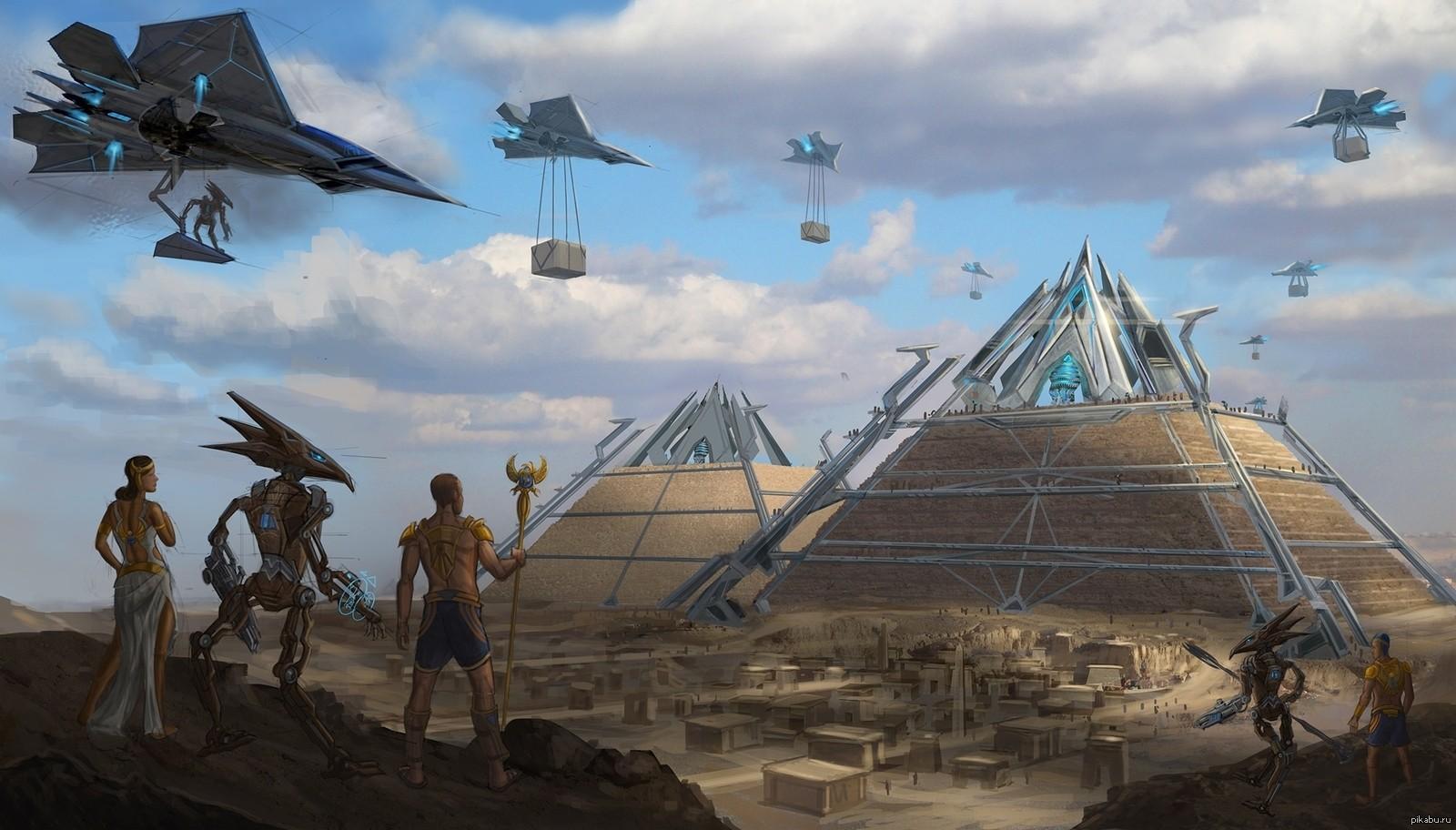 UFO_Egypt_pyramid_spaceship_science_fiction_fantasy_art_artwork-94764.jpg!d