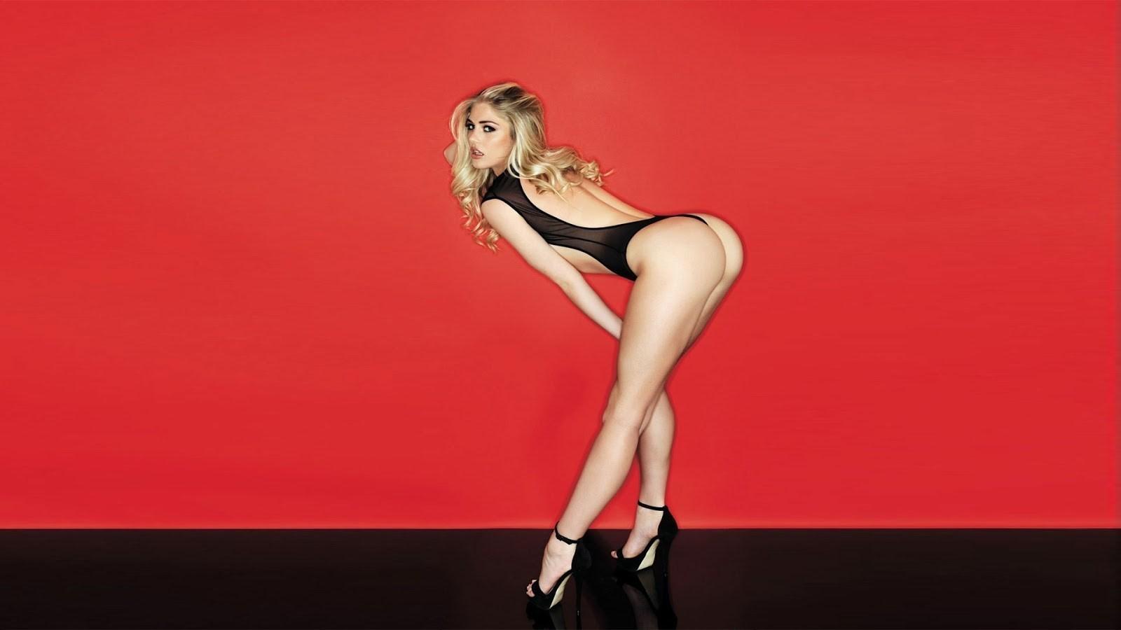 Wallpaper Sports Women Model Blonde Ass Wall High Heels