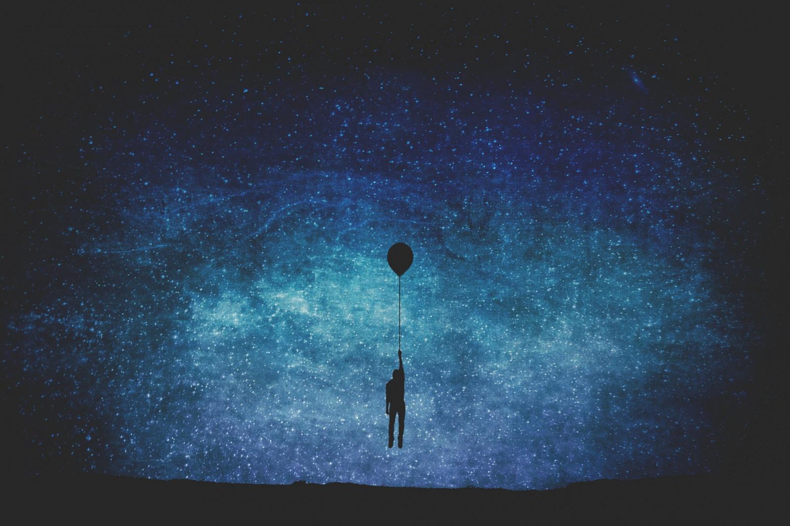 Wallpaper : night, galaxy, minimalism, sky, moonlight ...