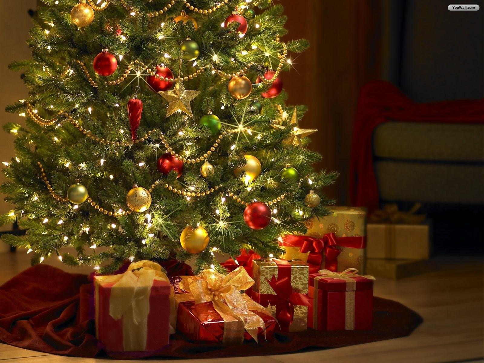 Sfondi Gratis Natalizi.Sfondi Albero Di Natale Addobbi Natalizi Vacanza Albero