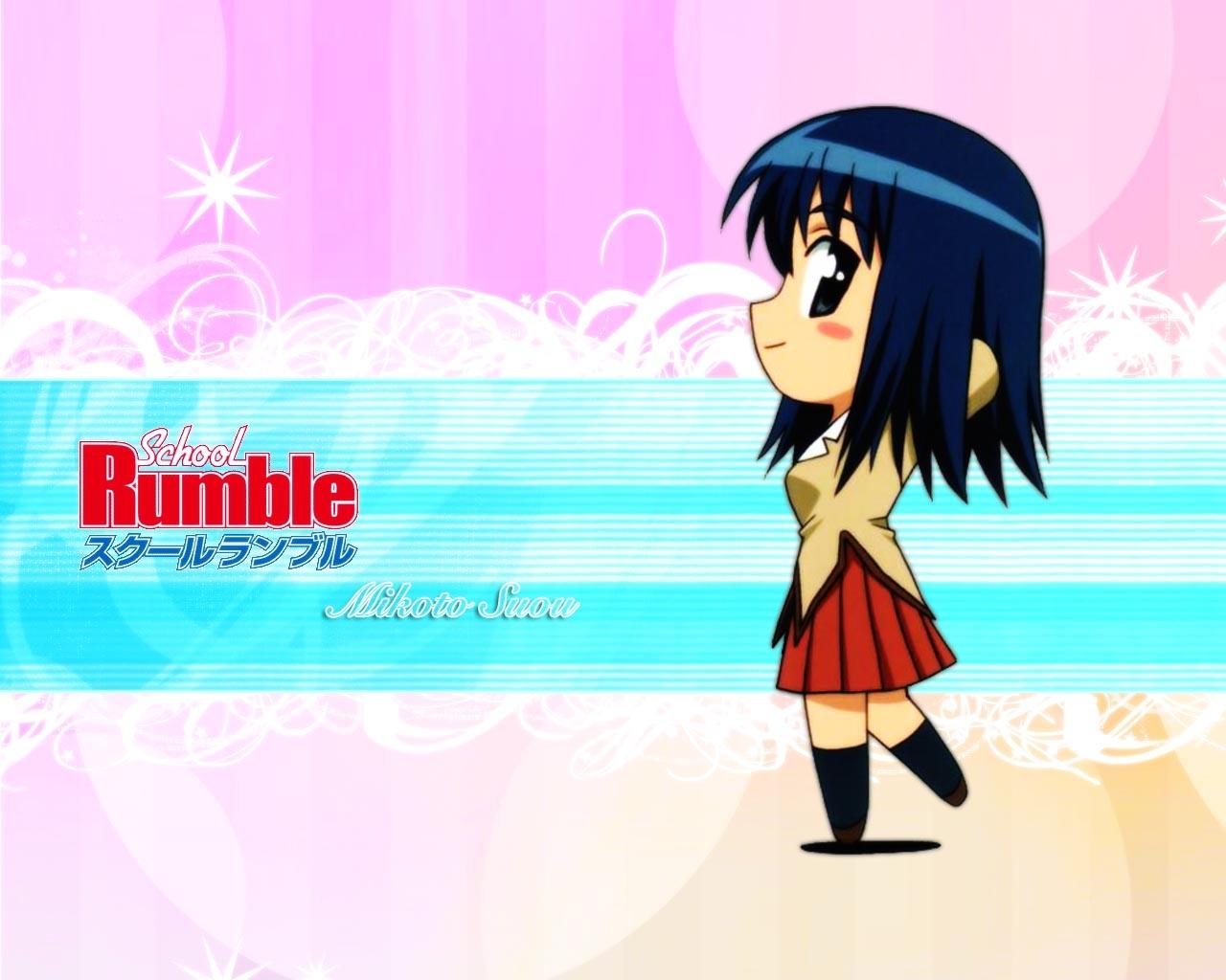 Wallpaper Illustration Anime Brunette Cartoon Skirt Side View