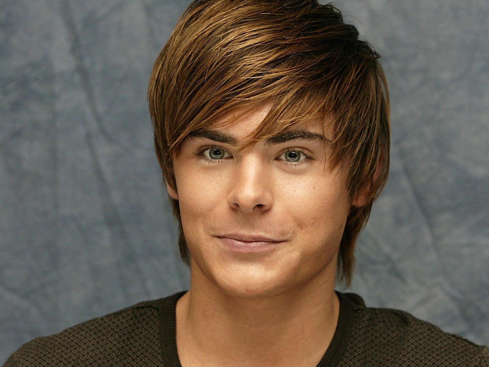 Wallpaper Face Long Hair Bangs Zac Efron Boy Cute Smile